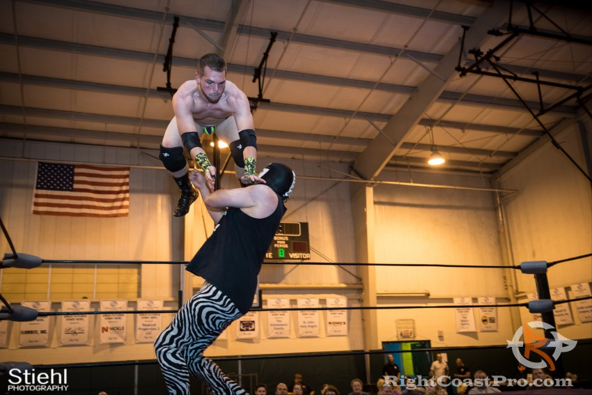 ColtonQuest 5 RCP31 RightCoast Pro Wrestling Delaware Event