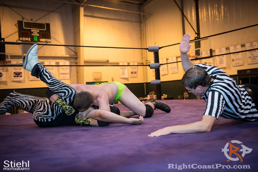 ColtonQuest 6 RCP31 RightCoast Pro Wrestling Delaware Event