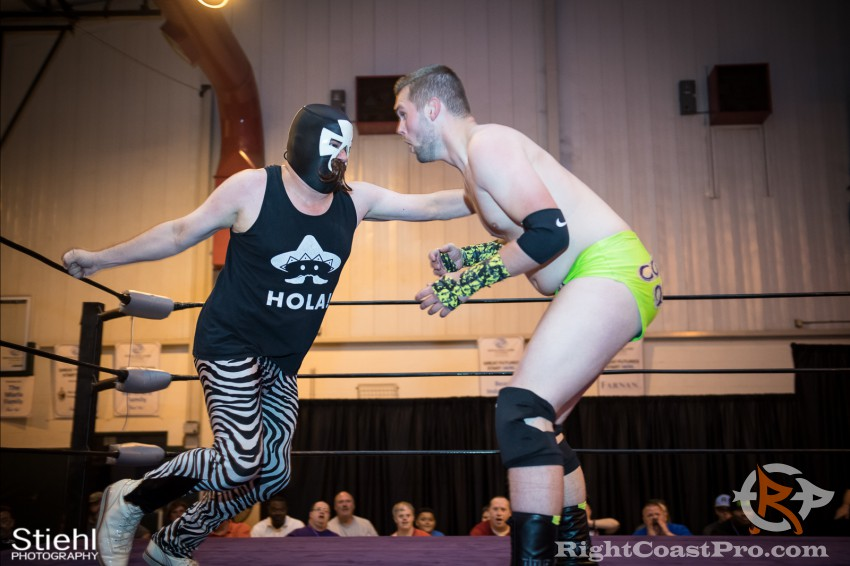Pedro 2 RCP31 RightCoast Pro Wrestling Delaware Event