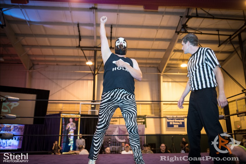 Pedro 7 RCP31 RightCoast Pro Wrestling Delaware Event