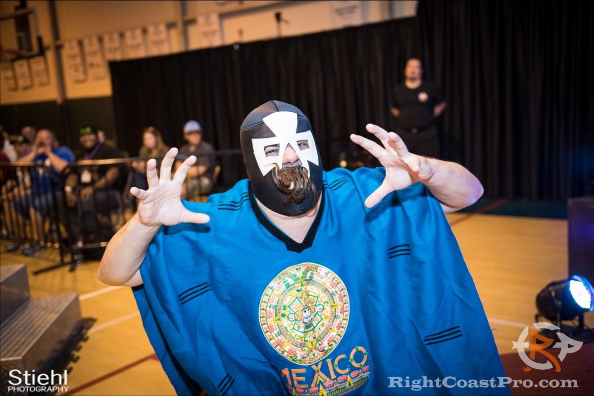 Pedro a RCP31 RightCoast Pro Wrestling Delaware Event