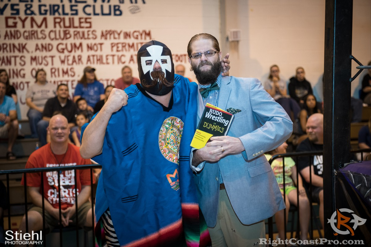 PedroDuro lawyer RCP31 RightCoast Pro Wrestling Delaware Event