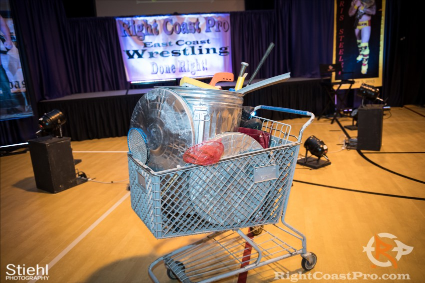 PedroDuro weapons RCP31 RightCoast Pro Wrestling Delaware Event