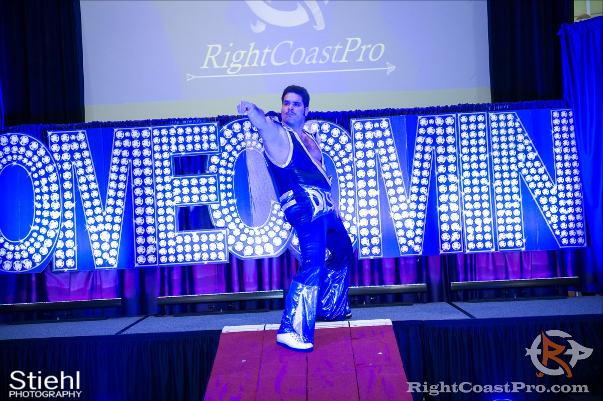 DiscoDave RCP32 RightCoast Pro Wrestling Delaware Event