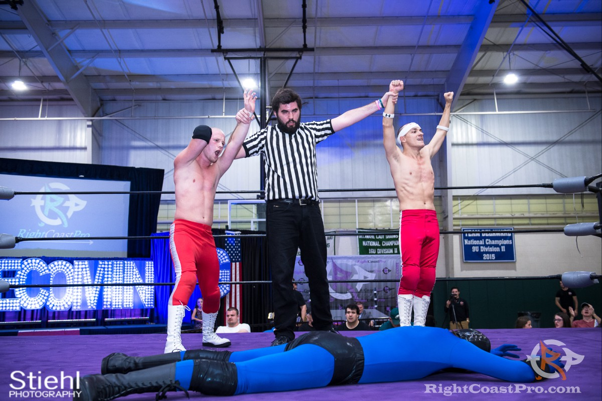 Heavyweights B RCP32 RightCoast Pro Wrestling Delaware Event