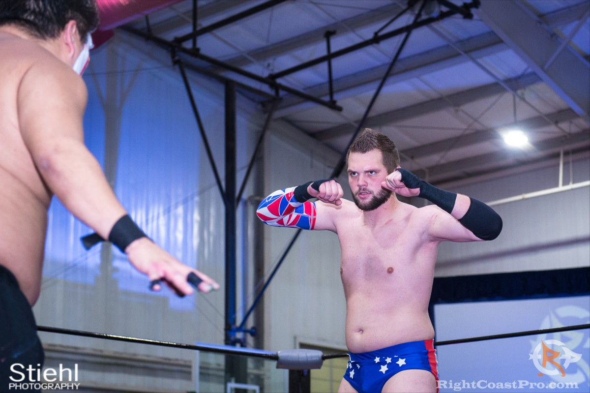 colton quest a RCP32 RightCoast Pro Wrestling Delaware Event