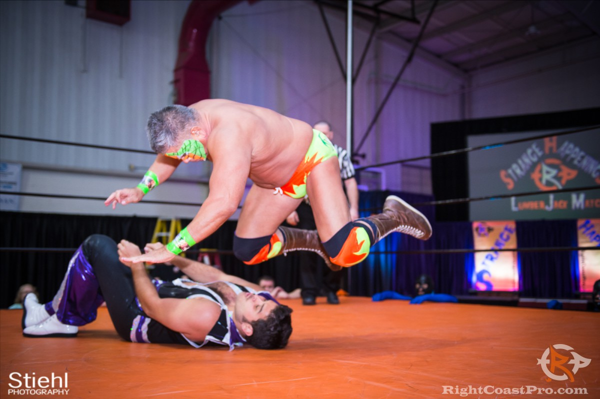 Disco Kaluha 10 RCP33 RightCoast Pro Wrestling Delaware Event