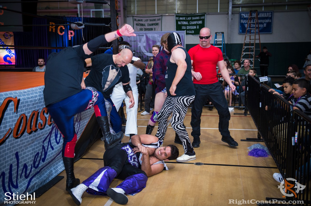 Disco Kaluha 7 RCP33 RightCoast Pro Wrestling Delaware Event