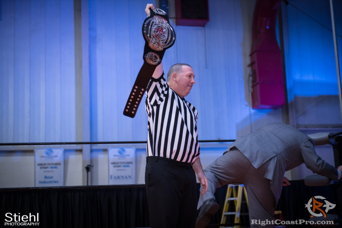 Dixon D Official champ RightCoast Pro Wrestling Delaware