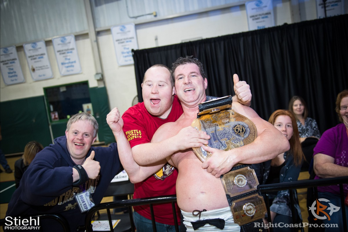 MozartFontaine B Champion RCP33 RightCoast Pro Wrestling Delaware Event
