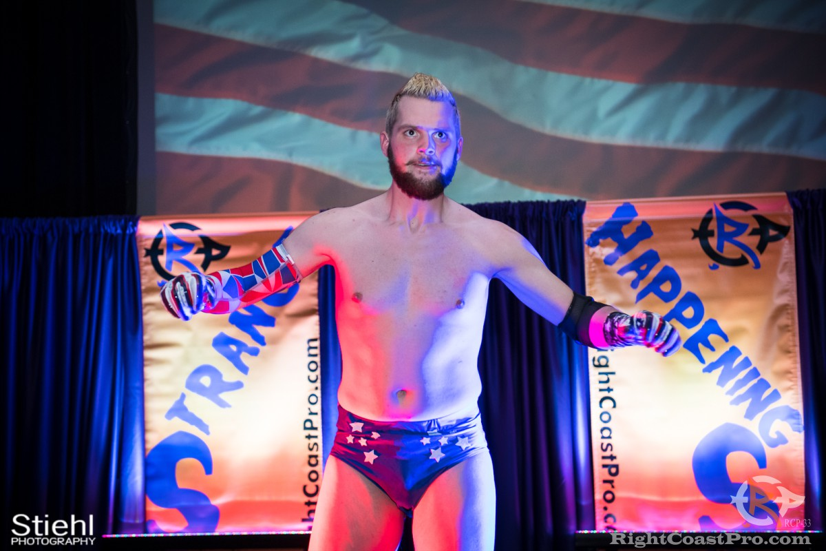 ColtonQuest A RCP33 RightCoast Pro Wrestling Delaware Event