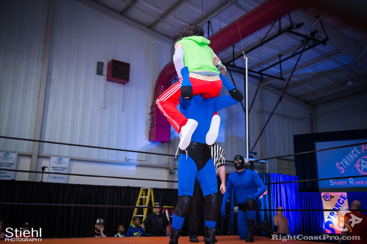 Contractors 5 RCP33 RightCoast Pro Wrestling Delaware Event