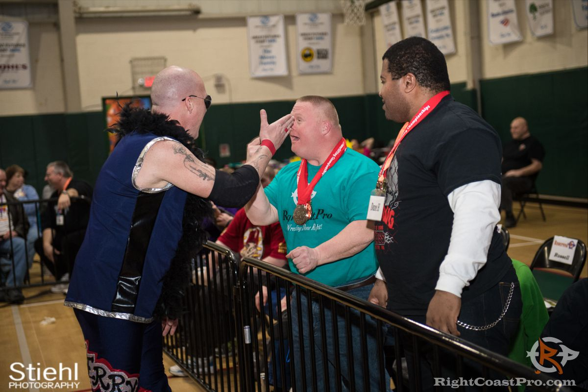 MrIntensity 3 RCP34 RightCoast Pro Wrestling Delaware Event