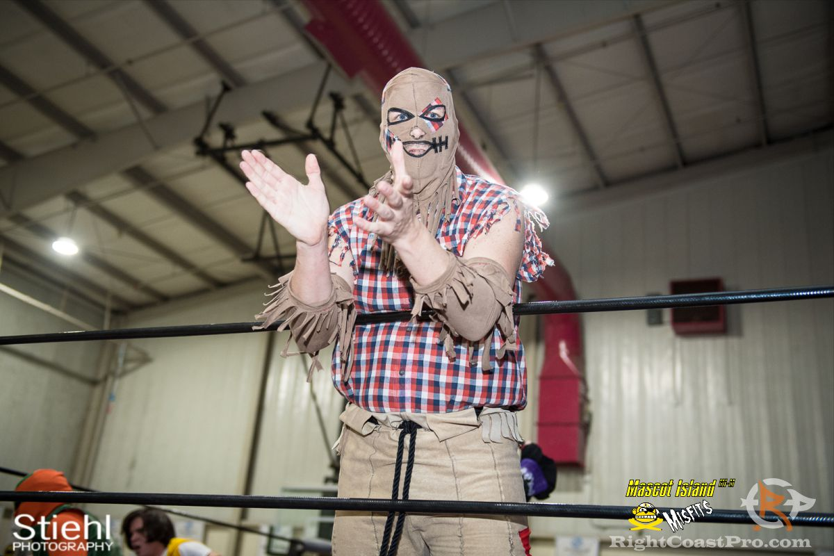 ScareCrow A RCP34 RightCoast Pro Wrestling Delaware Event