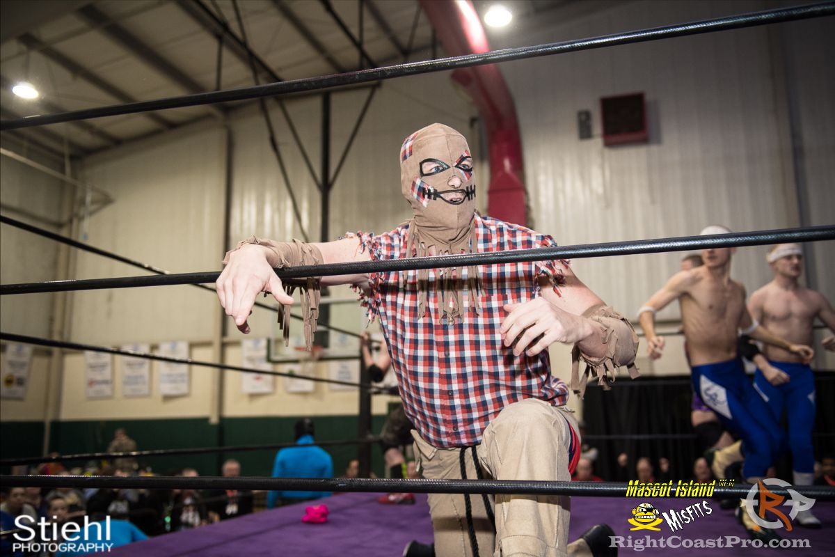 ScareCrow B RCP34 RightCoast Pro Wrestling Delaware Event