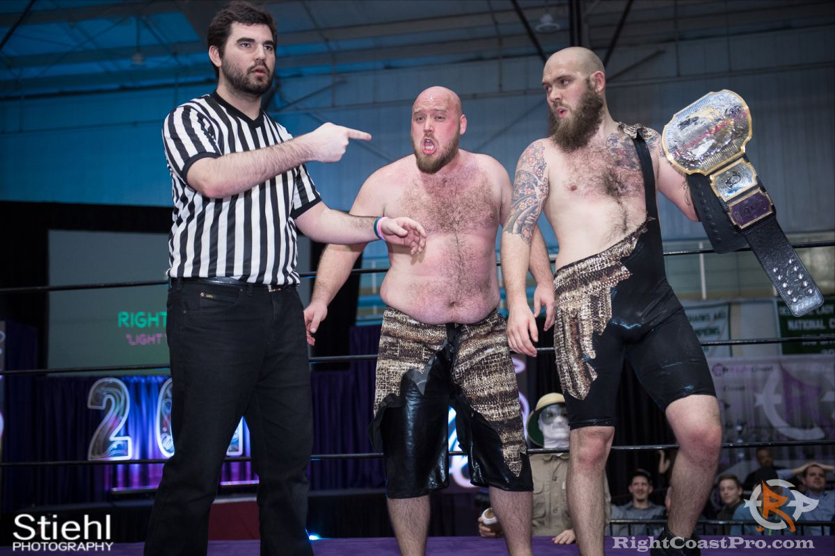 Savage 3 RCP34 RightCoast Pro Wrestling Delaware Event