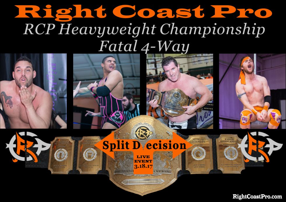 Fatal 4way RightCoast ProWrestling Delaware