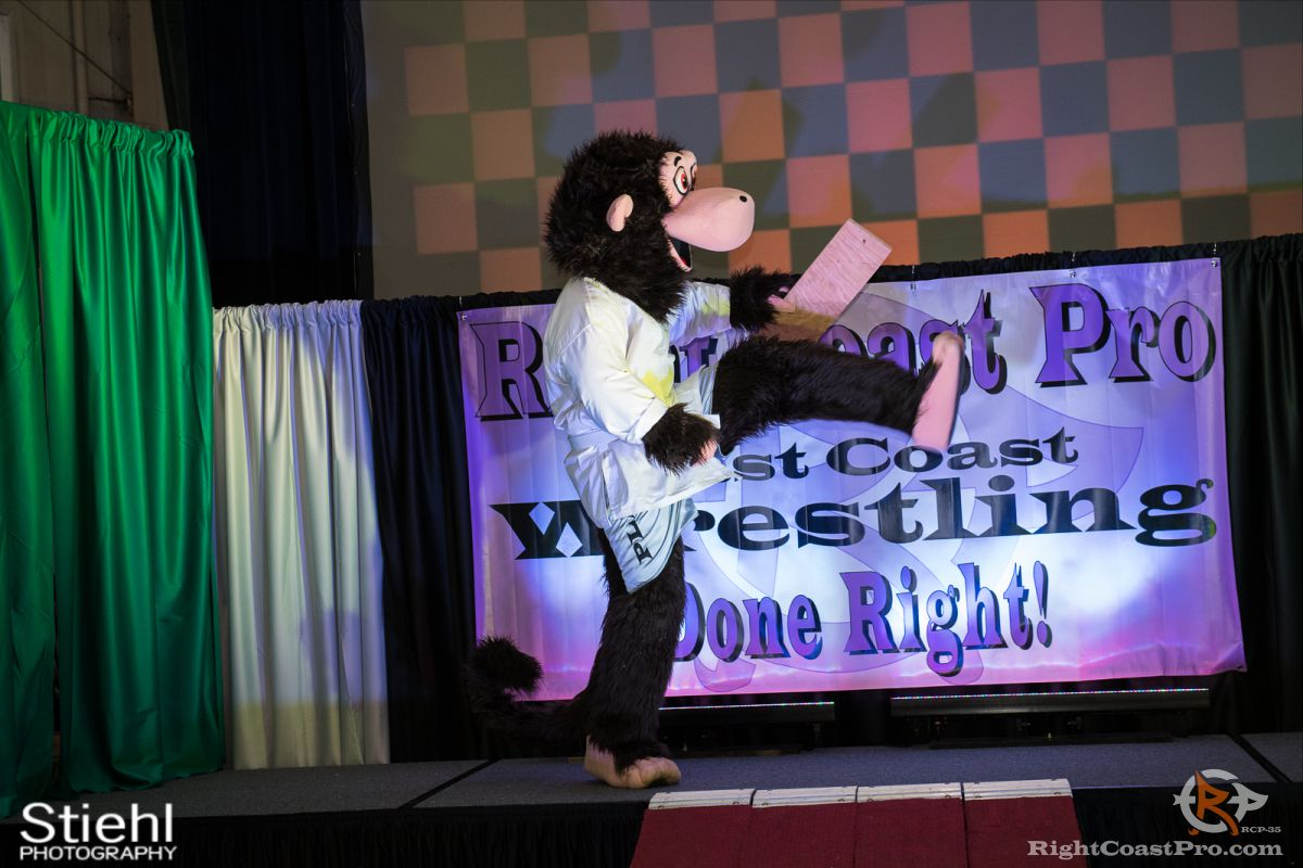 Mascot Coastee B RCP35 RightCoast Pro Wrestling Delaware Entertainment Sports Event