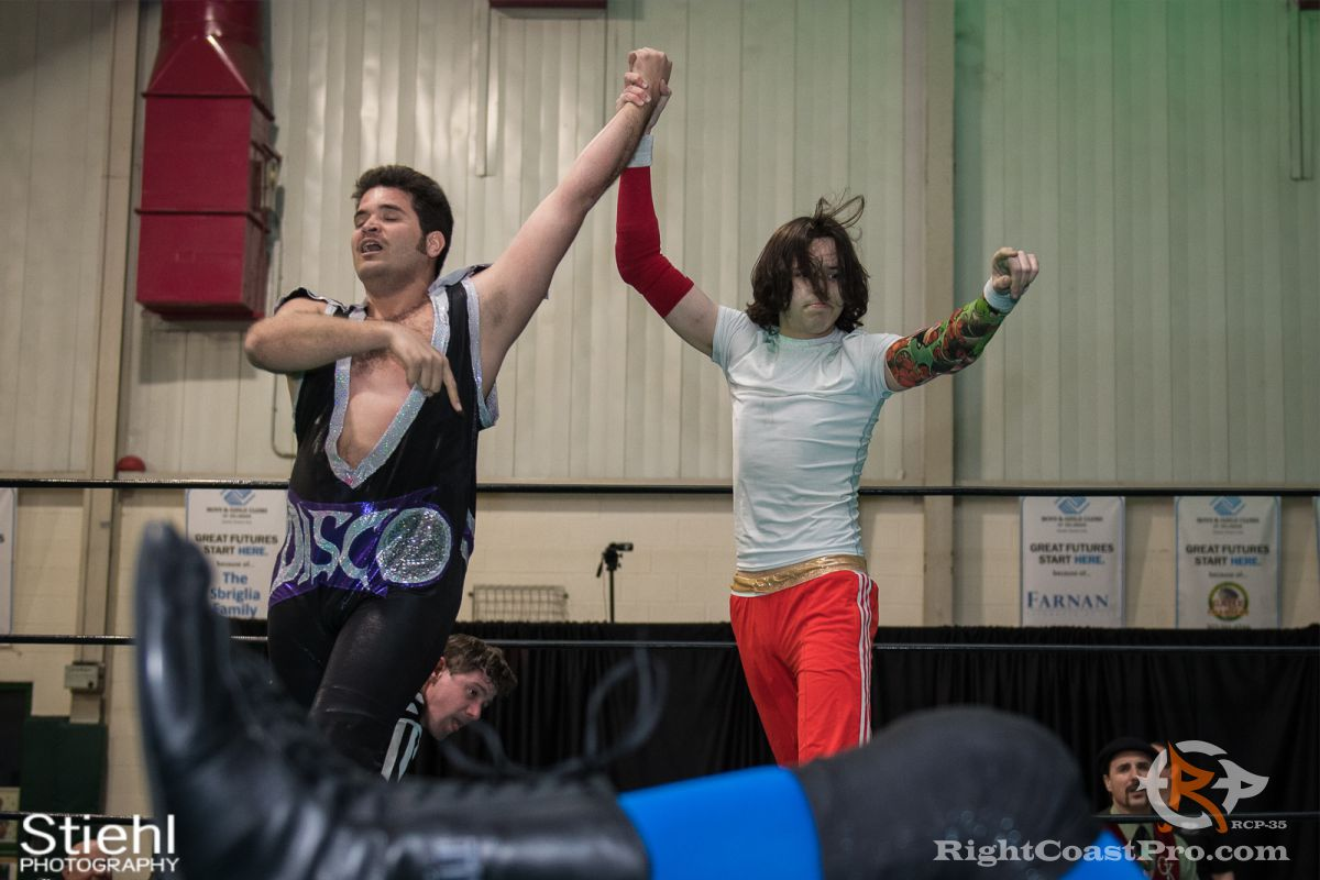 DiscoDave 8 RCP35 RightCoast Pro Wrestling Delaware Entertainment Sports Event