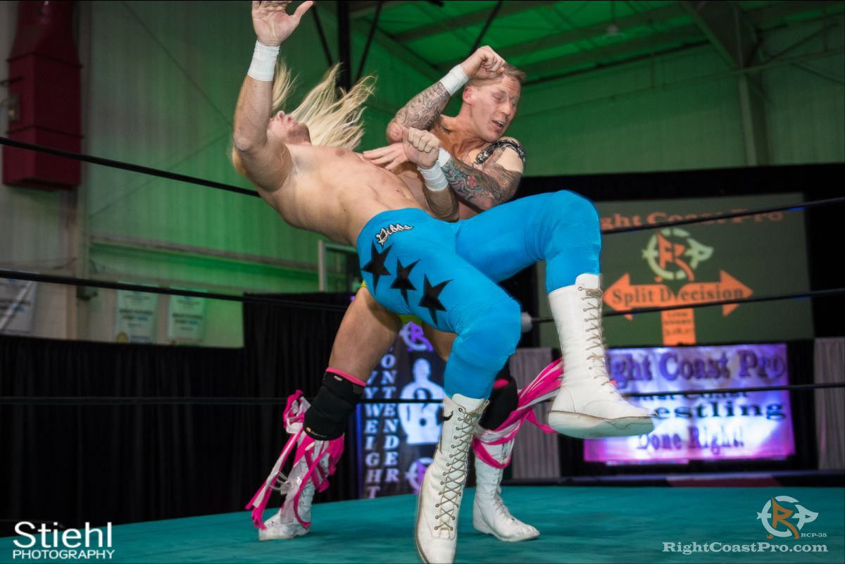 DamianGibbs D RCP35 RightCoast Pro Wrestling Delaware Entertainment Sports Event