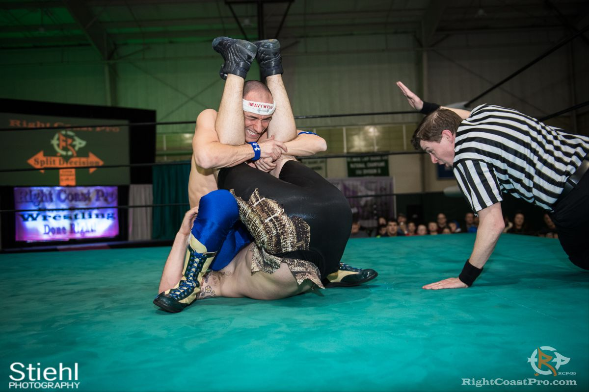 SeanRoyal B RCP35 RightCoast Pro Wrestling Delaware Entertainment Sports Event