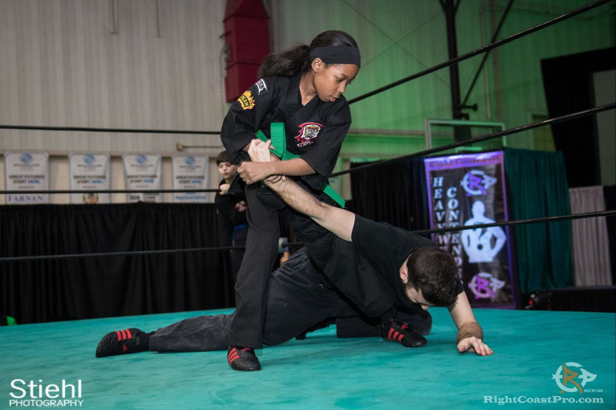 Newark Kenpo Karate 3 rcp35 RightCoast Pro Wrestling Delaware Entertainment Sports Event