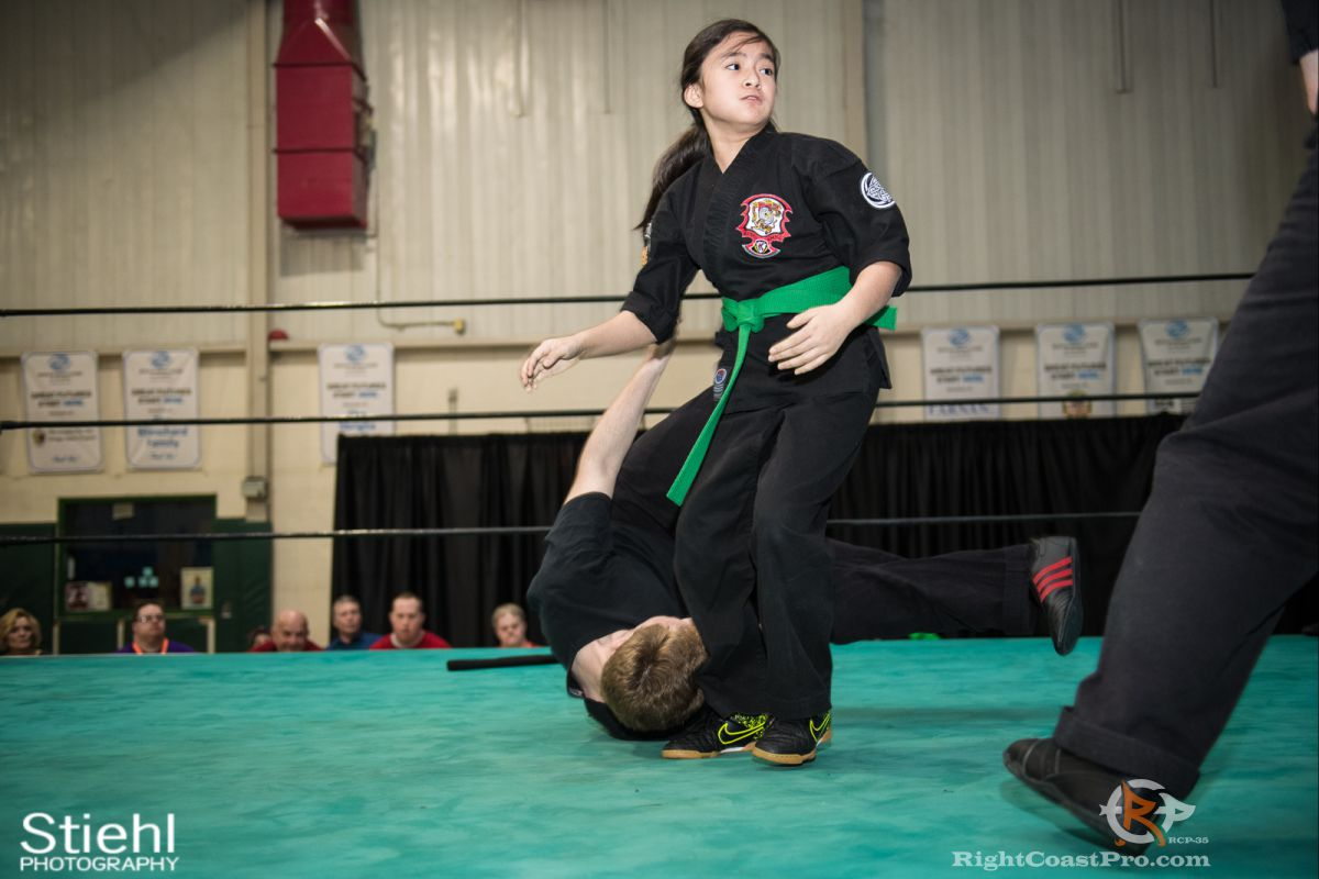 Newark Kenpo Karate 5 rcp35 RightCoast Pro Wrestling Delaware Entertainment Sports Event