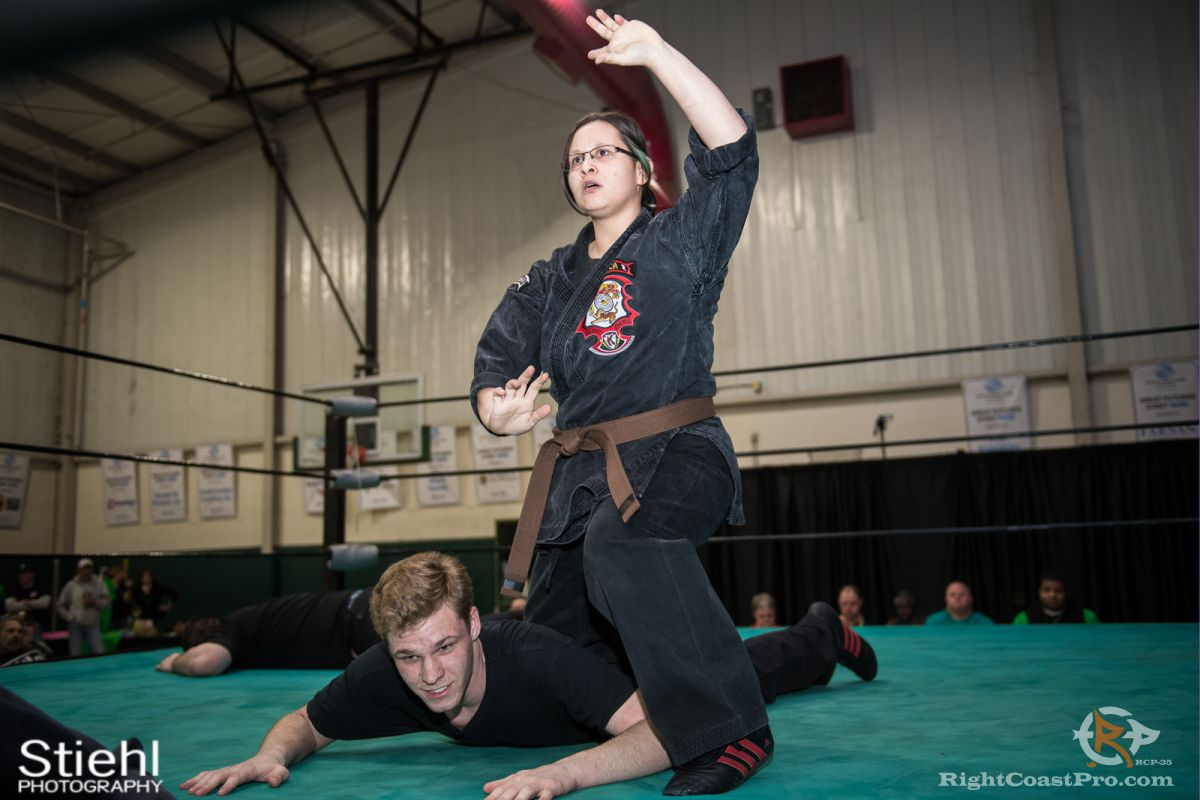 Newark Kenpo Karate 6 rcp35 RightCoast Pro Wrestling Delaware Entertainment Sports Event
