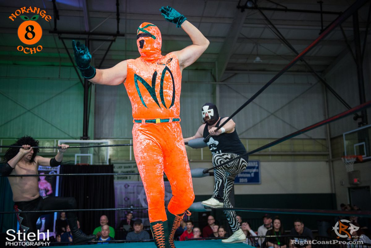 NorangeOcho B RCP35 RightCoast Pro Wrestling Delaware Entertainment Sports Event