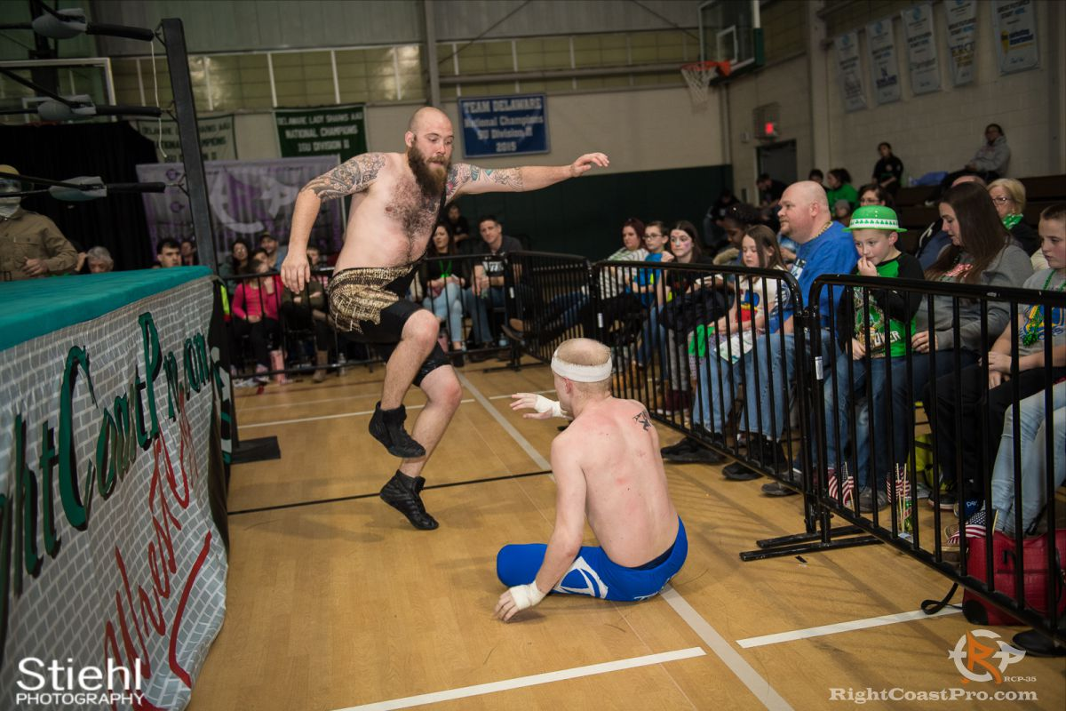 WWF 5 RCP35 RightCoast Pro Wrestling Delaware Entertainment Sports Event