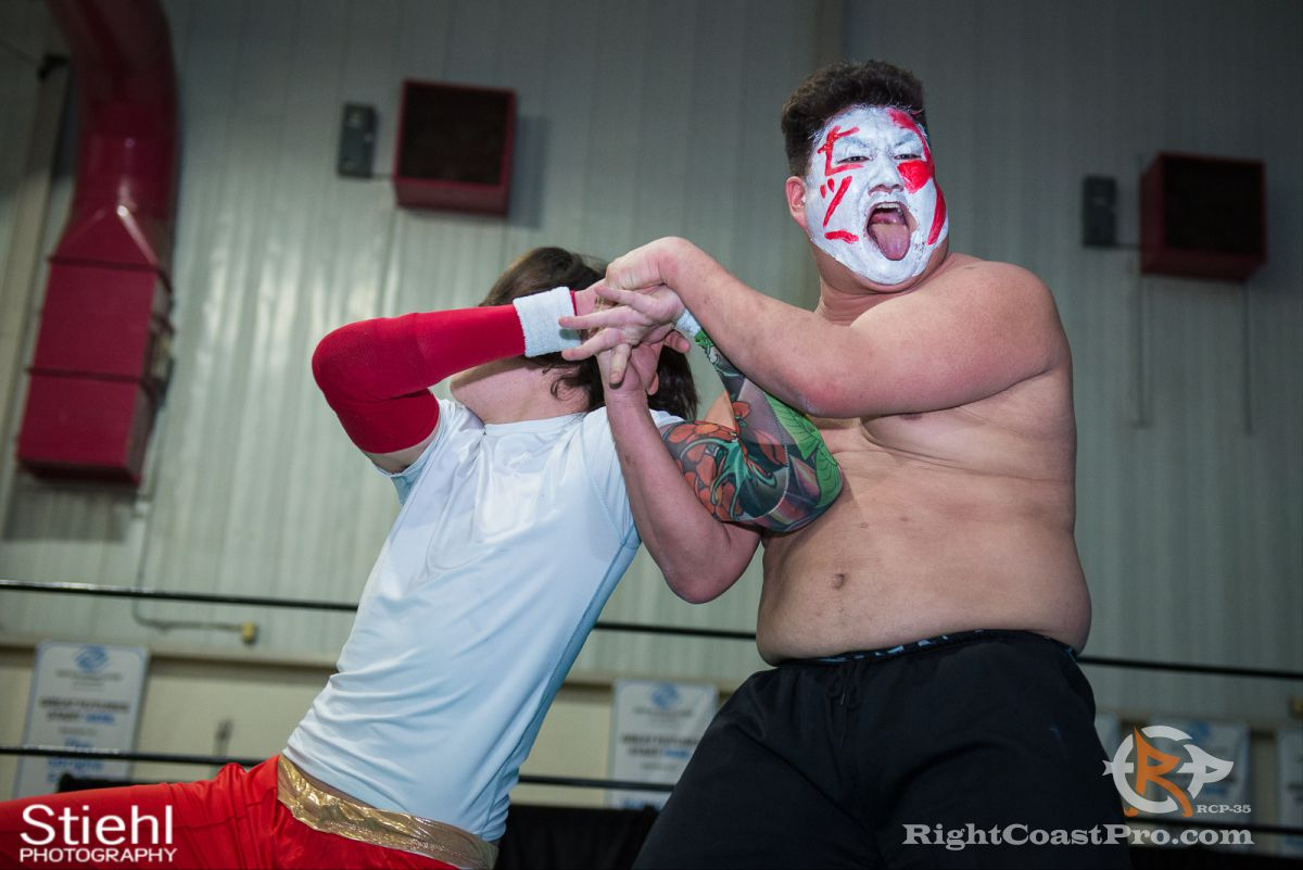 SetsuGinsu A RCP35 RightCoast Pro Wrestling Delaware Entertainment Sports Event