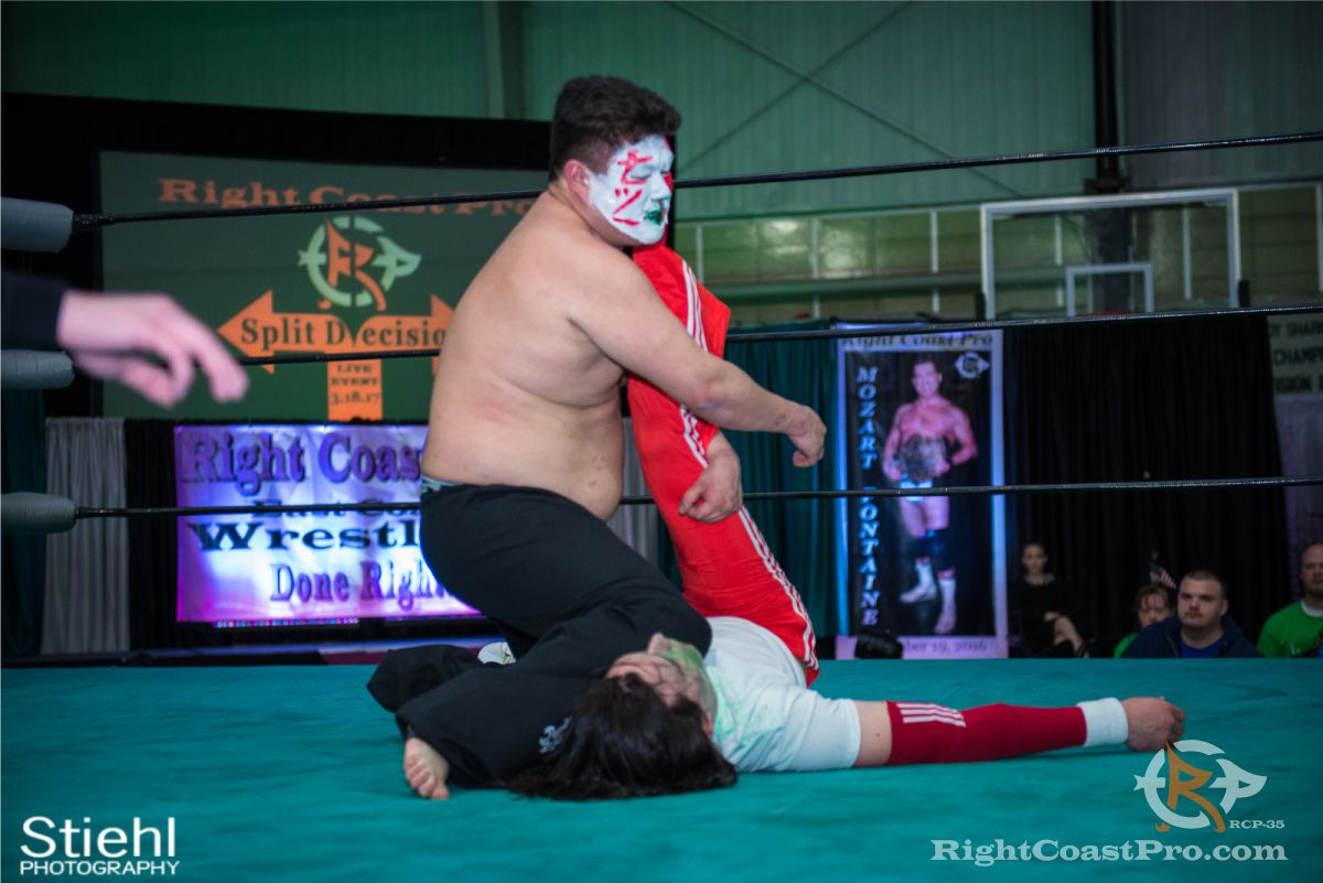 SetsuGinsu B RCP35 RightCoast Pro Wrestling Delaware Entertainment Sports Event