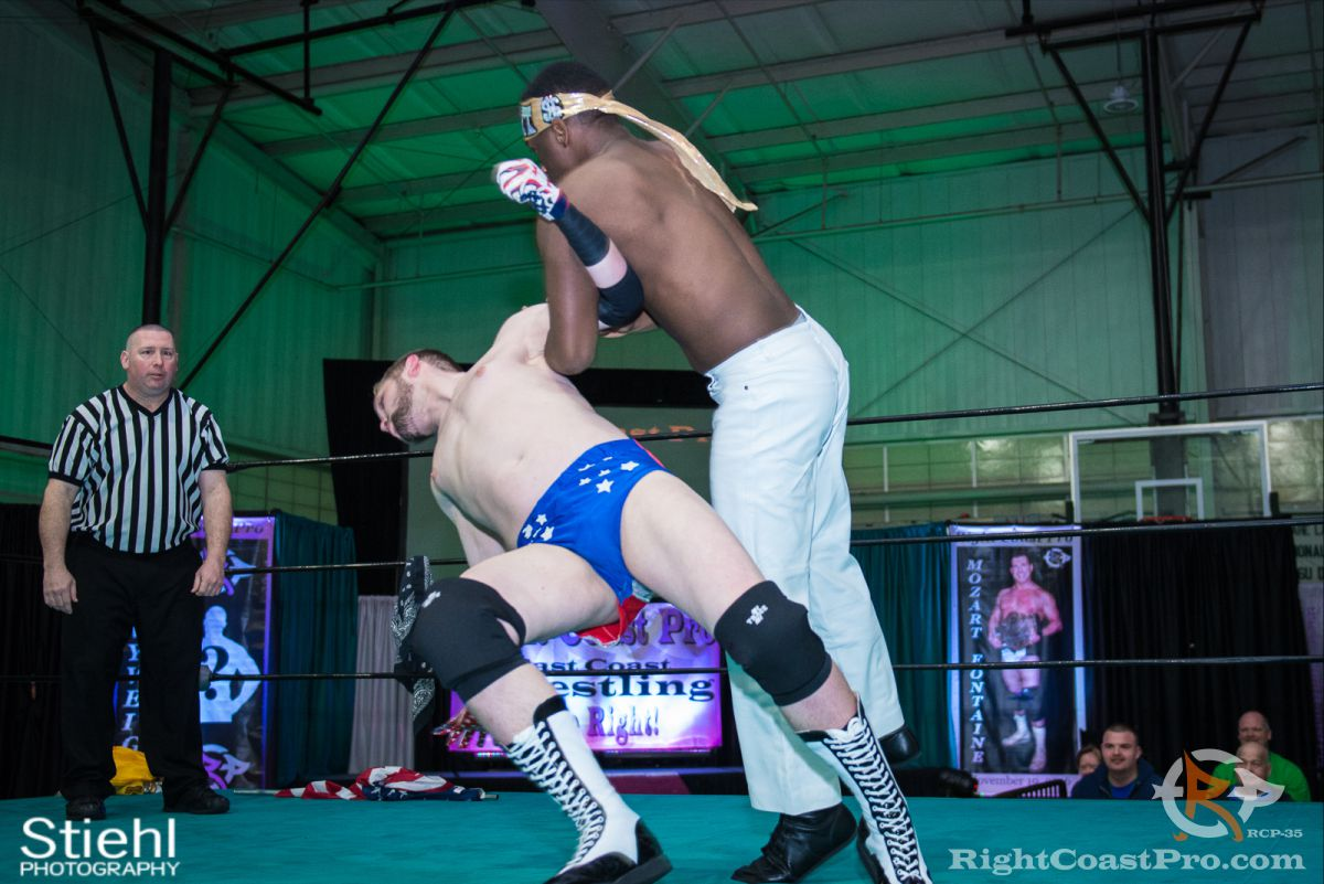 Colton Quest 3 RCP35 RightCoast Pro Wrestling Delaware Entertainment Sports Event