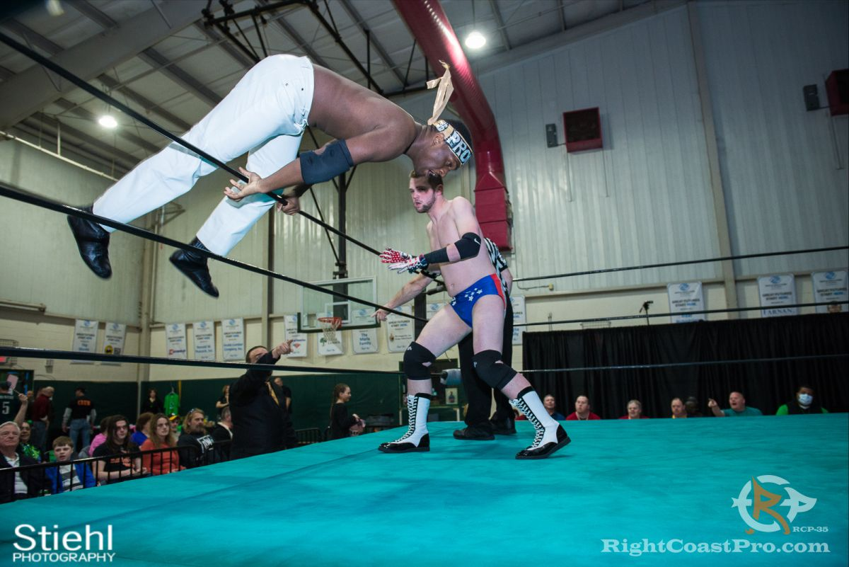 Colton Quest 4 RCP35 RightCoast Pro Wrestling Delaware Entertainment Sports Event