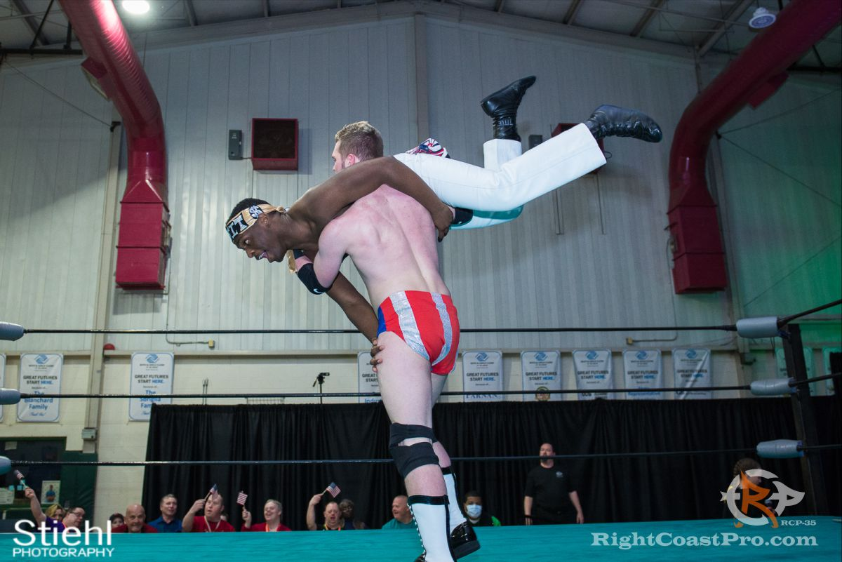 Colton Quest 5 RCP35 RightCoast Pro Wrestling Delaware Entertainment Sports Event