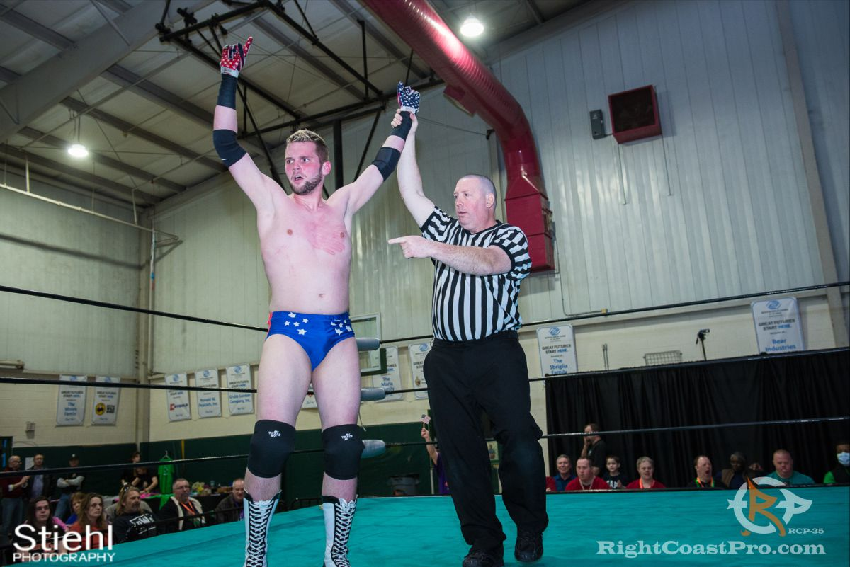 Colton Quest 7 RCP35 RightCoast Pro Wrestling Delaware Entertainment Sports Event