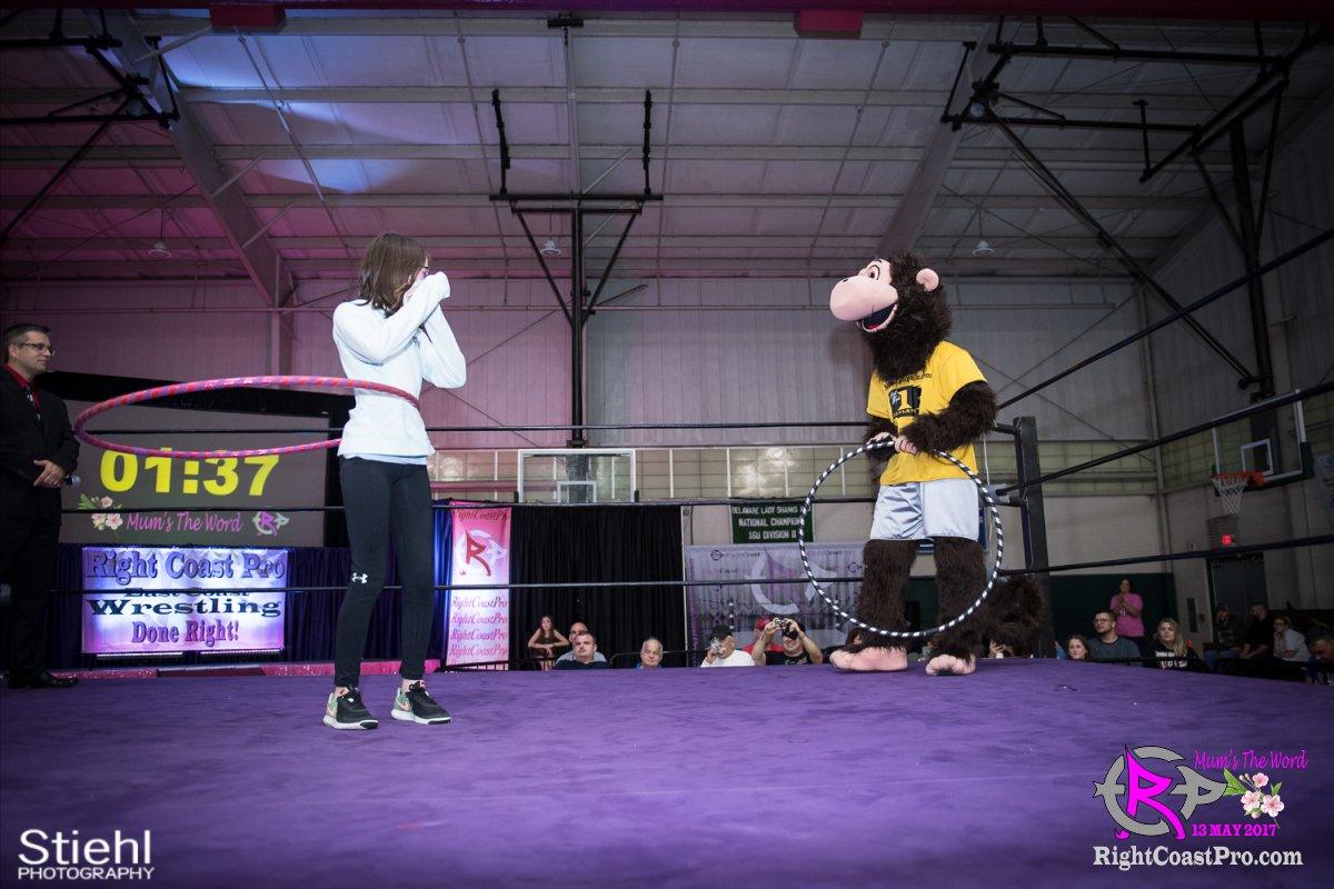 MascotCoastee 13 RCP36 RightCoast ProWrestling Delaware fitness