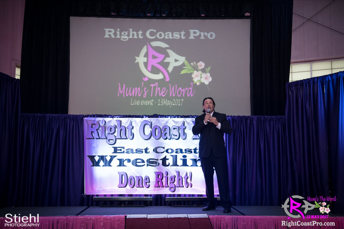 JJ RCP36 RightCoast ProWrestling Delaware Entertainment Event