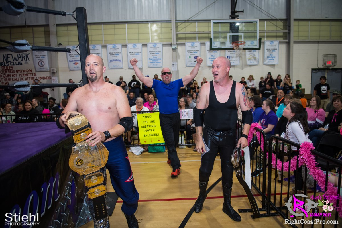 BaldwinBrothers 2 RCP36 RightCoast ProWrestling Delaware Entertainment Event