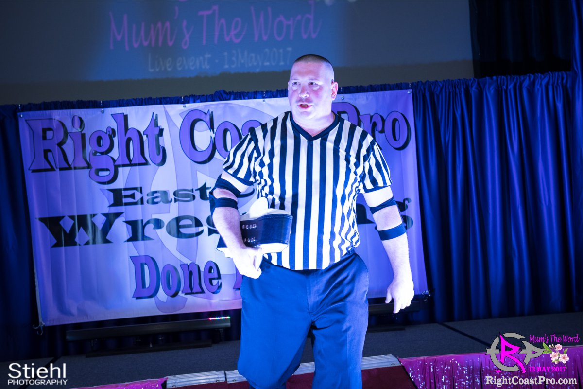 RefDixon A RCP36 RightCoast ProWrestling Delaware Entertainment Event