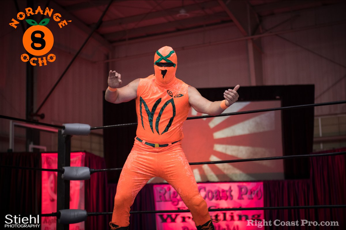 NarangeOcho D RightCoast Pro Wrestling RCP36 Event