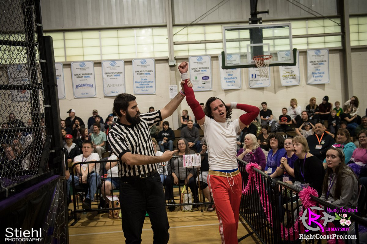 SLIM RICKY 20 RCP36 RightCoast ProWrestling Delaware Entertainment Event