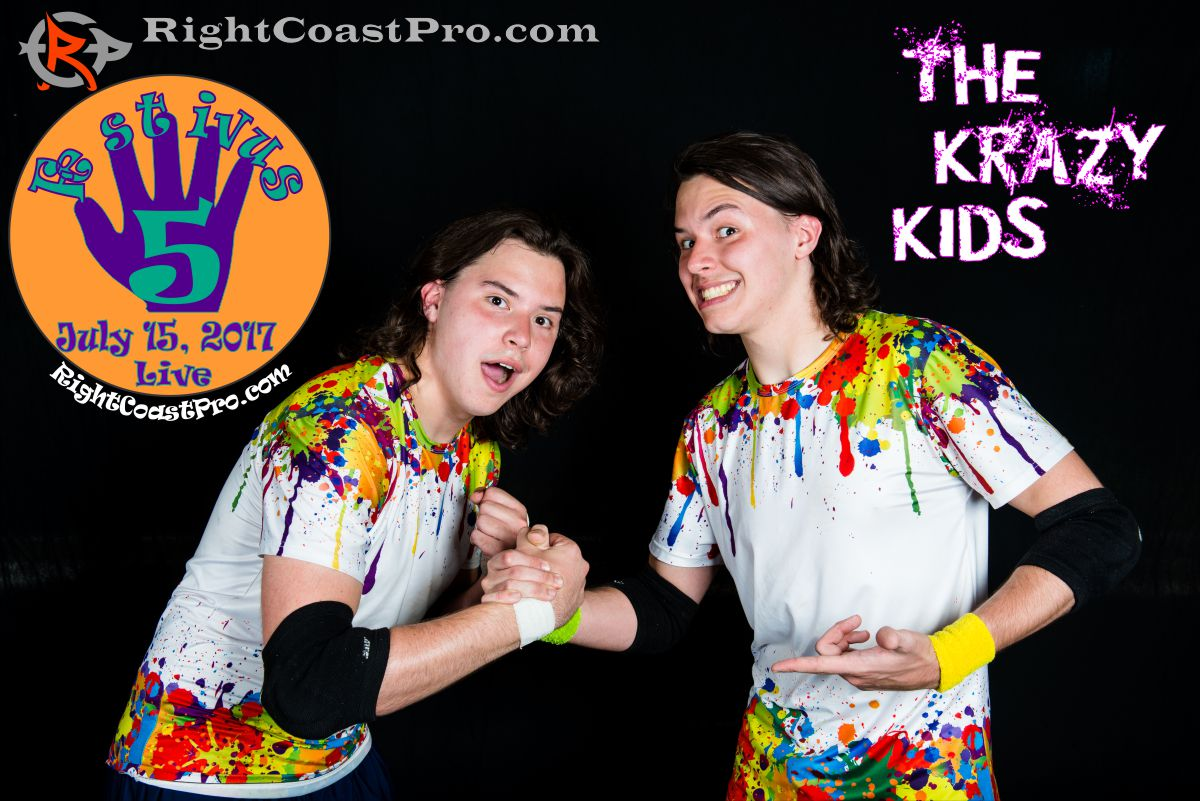 CrazyKids 2 Festivus Five RightCoast ProWrestling Delaware Event