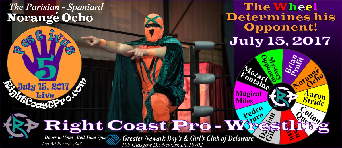NorangeOcho Festivus Five RightCoast ProWrestling Delaware Event
