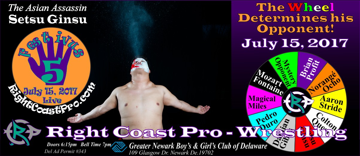 SetsuGinsu Festivus Five RightCoast ProWrestling Delaware Event