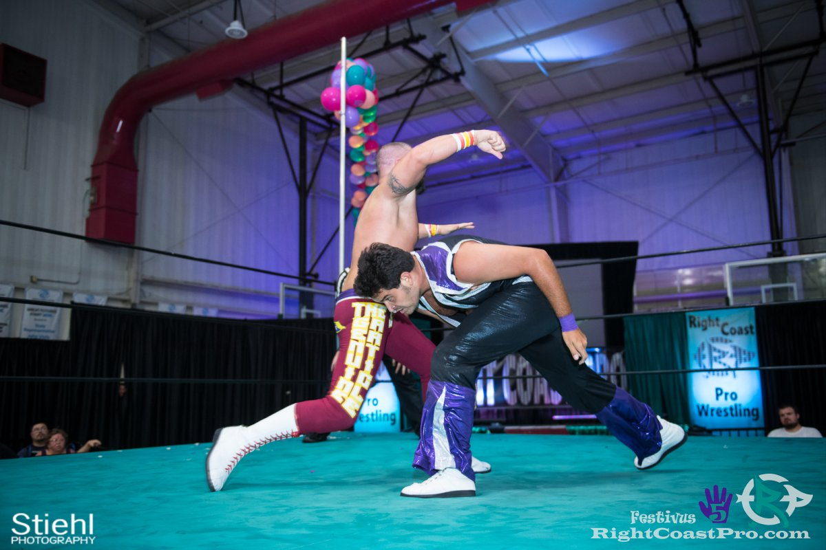 DiscoDave 4 Festivus Five RightCoast ProWrestling Delaware Event