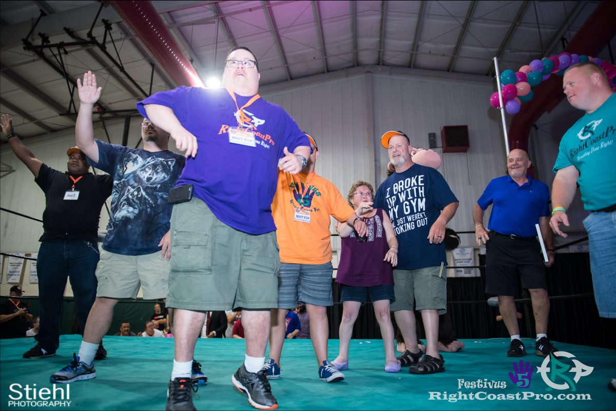 SpecialOlympics Festivus Five RightCoast ProWrestling Delaware Event