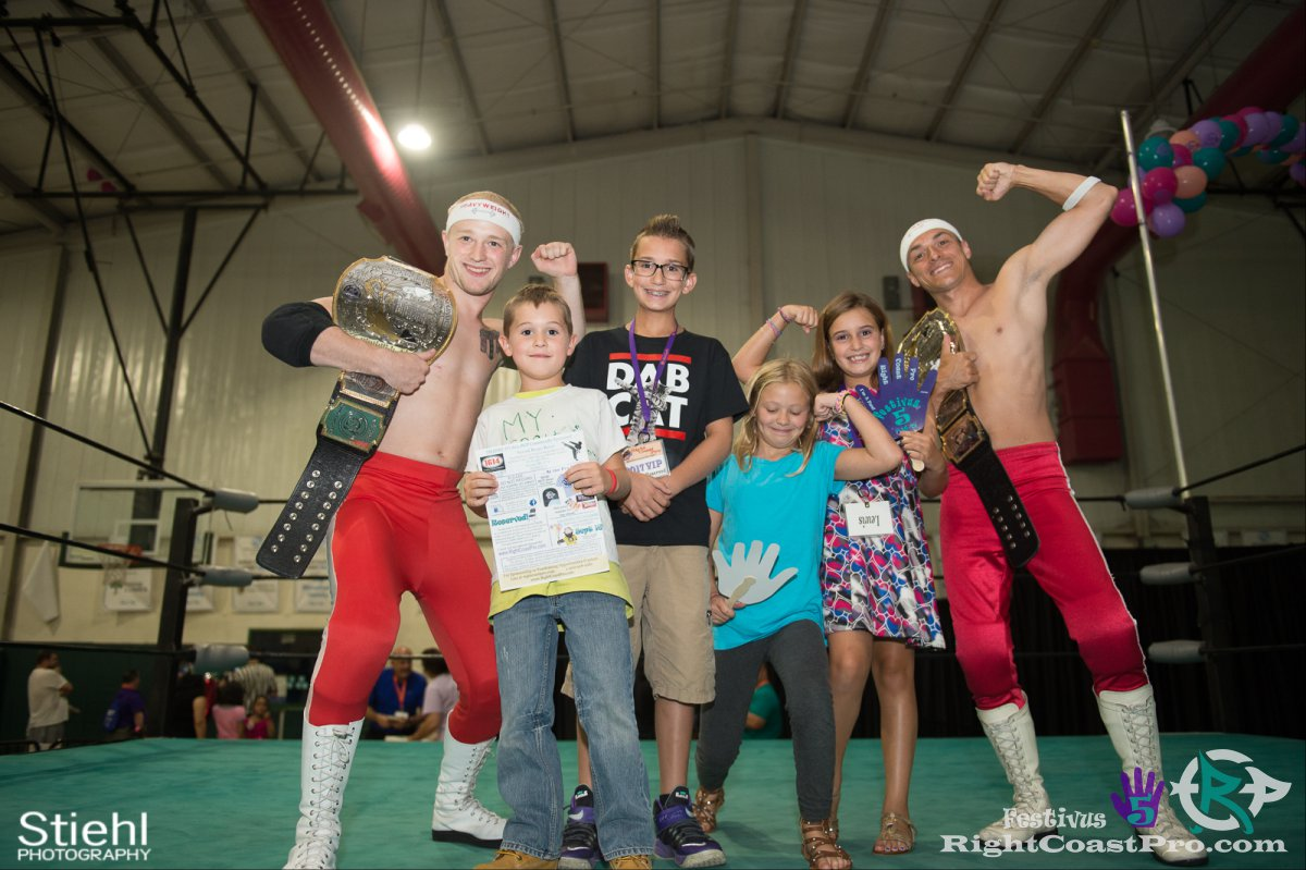 FanAppreciation 17 Festivus Five RightCoast ProWrestling Delaware Event