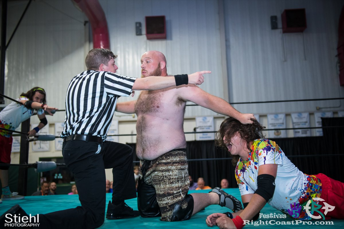Savages f Festivus Five RightCoast ProWrestling Delaware Event