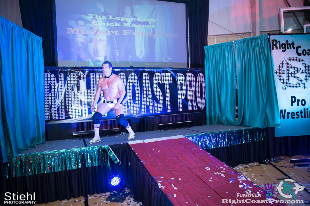 MozartFontaine A Festivus Five RightCoast ProWrestling Delaware Event
